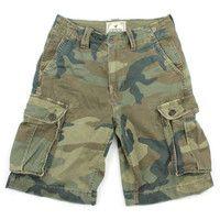 American Eagle Camo Cargo Shorts - Mens 26 Waist