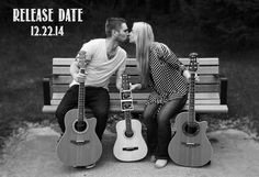guitar/music pregnancy announcement