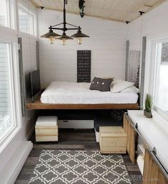 Genius tiny house is full of DIY transforming furniture - Curbed