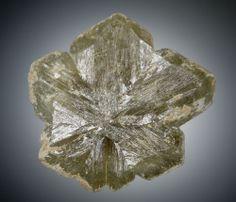 キャッツアイ cats eye (金緑石 chrysoberyl) モース硬度 8.5  花崗岩ペグマタイト中より産出するクリソベリル(金緑石)は珍しい鉱物ではないが、カボッションカットにすると眼の出るキャッツアイは宝石としての価値もあり、人気も高いもので、最も好まれるのは蜂蜜色、あるいは黄緑色をしたものです。クリソベリルはベリリウムとアルミニウムの酸化物で、先端のくさび形の結晶が特徴である。色合いは主に緑色、黄緑色、黄色、褐色などがある。キャッツアイ効果を示す石は沢山あるので、クリソベリル・キャッツアイと称するほうが正しい呼び名です。