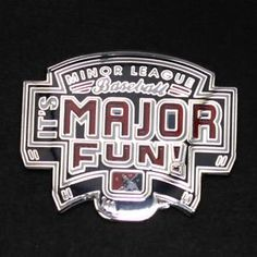 "MiLB ""Major Fun"" Lapel Pin"