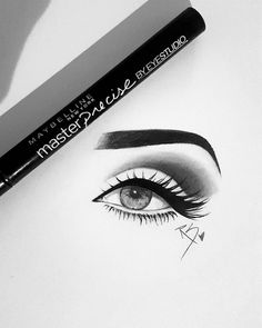 Practicing a little realism tonight with my eyeliner. 💖💖💖 Snapchat: chrislorre 🌙  Goodnight/GM loves🌟  #art #eyeliner #eye #draw #drawing #drawings #love #artist #artwork #mua #makeup #eyebrows #fashion #fashionlovers #illustration #realism #instaart #instaartist #inspiration #instagood #instamood #goodnight #Godisgoodallthetime