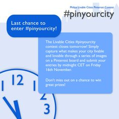 Last chance to enter! #pinyourcity #Philips