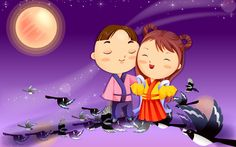 romance cartoons moon night dark knight rises wallpapers hipsters wallpaper free