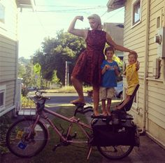 Biking with Kids | Interview with Madi Carlson on Iva Jean