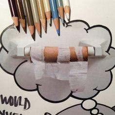 Karla Mialynne toilet paper roll