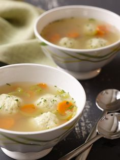 Recipes from The Nest - Matzo Ball Soup