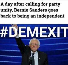 #DemExit vote Jill Stein!