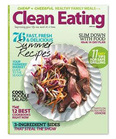 Take a look at the Clean Eating Magazine Subscription on #zulily today!
