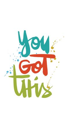 Free download and printable inspiration: You got this - Fat Mum Slim