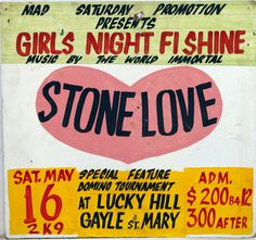 Maxine Walters's Collection of Jamaican Dancehall Signs