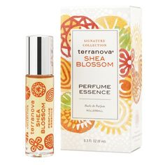 TerraNova Shea Blossom Perfume - .3 oz. Rollerball Bottle >> Don't get left behind, see this great  product : Travel Perfume and fragrance
