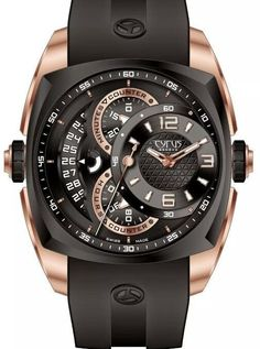 CYRUS WATCHES KLEPCYS CHRONOGRAPHE Gold Rose