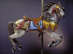 carousel horses | Horses Wallpapers » Blog Archive » Carousel Horse Portrait Wallpaper ...