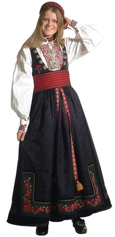Beltestakk med broderi - Beltestakk - Dame - Bunadene våre - Almankås Old And New, Costumes, Embroidery, Tattoos, Skirts, Model, Design, Fashion, Moda