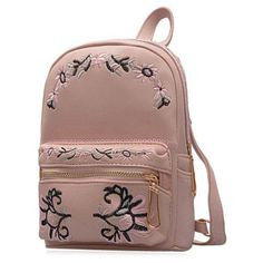 GET $50 NOW | Join RoseGal: Get YOUR $50 NOW!http://m.rosegal.com/satchel/pu-leather-flower-embroidered-backpack-1080182.html?seid=9595975rg1080182