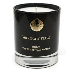 Hightide Devon  - Midnight Stars Scent: Think Mystical Nights 30cl... ($37) ❤ liked on Polyvore featuring home, home decor, candles & candleholders, autumn scented candles, citrus candles, citrus scented candles, aromatic candles and fall candles