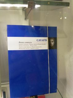 """Poesia completa"" de Cavafis. Almuzara."