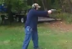 Man+Almost+Kills+Himself+Shooting+Gun+For+The+First+Time