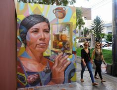 """El Decertor is back in the Miraflores district of Lima in Peru where he just wrapped up a brand new piece entitled """"Illusion"""""""