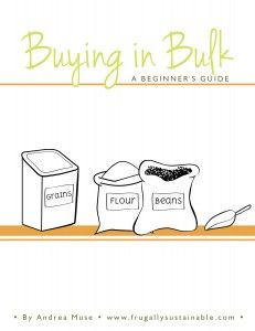 Learn how buying foods in bulk can save you a ton of money! Best part...the book is FREE!!!