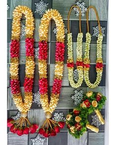 Wedding Garlands, Flower Garland Wedding, Wedding Mandap, Flower Garlands, Wedding Flowers, Indian Wedding Couple Photography, Happy Flowers, Stage Decorations, Bride Hairstyles