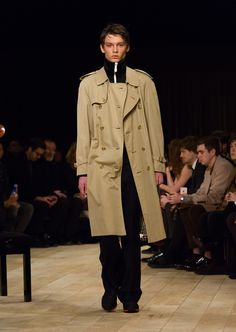 The Trench Coat with a tracksuit jacket and The Satchel
