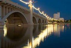 Mill Avenue Bridge in Tempe, AZ.