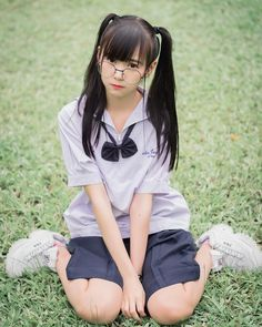 Image may contain: 1 person, sitting, child and outdoor Asian Cute, Cute Asian Girls, Beautiful Asian Girls, Cute Girls, School Girl Japan, School Uniform Girls, Asian Cosplay, Cosplay Girls, Girls Gallery