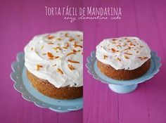 Torta fácil de mandarina - Easy clementine cake - Euge de la Peña Blog