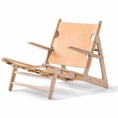 Fredericia Furniture Borge Mogensen Hunting Chair by Borge Mogensen - Danish Design Store