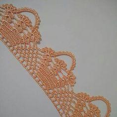 Easiest Crochet Frills Border Ever! Free Crochet Doily Patterns, Crochet Lace Edging, Crochet Borders, Crochet Trim, Filet Crochet, Diy Crochet, Crochet Designs, Crochet Doilies, Crochet Stitches