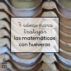 Descubre varias ideas para trabajar las matemáticas con hueveras y poco materiales más. Crearás juegos divertidos y didácticos con pocos materiales. Priorities, Homeschool, Teacher, Education, Learning, Peru, Ideas, Science, Decor
