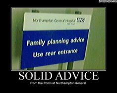 ..for those who did not know, well.. medical advice to the point!!!