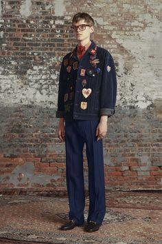 gucci mens blue velvet corduroy jacket