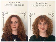 Seu cabelo não combina com sua personalidade? Um corte para cabelo cacheado com franja e estilo transmite modernidade e renova o visual. Clique e descubra: