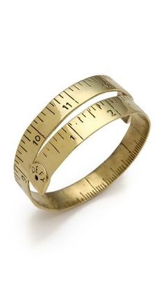 Monserat De Lucca Measuring Tape Bracelet