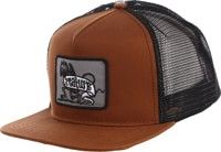 Creature Imp Trucker Hat - brown/black