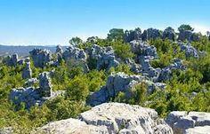 Sauve - Gard : la mer de rochers