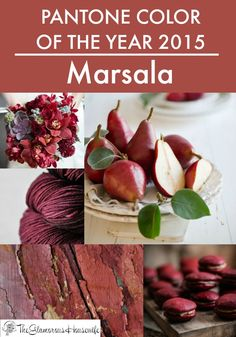 2015 Pantone Color Of The Year: Marsala. Click through to see how you can incorporate it into your wardrobe!
