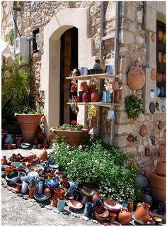Margarites Village Famous Pottery, Crete