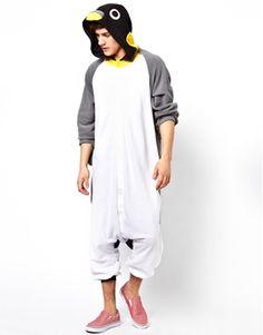 We <3 this penguin onesie from ASOS #macwonderland