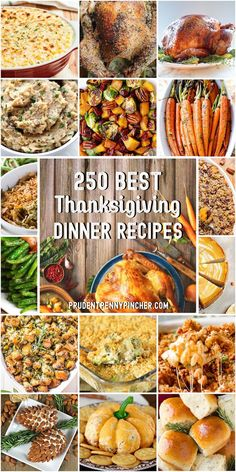 250 Best Thanksgiving Recipes - Finance tips, saving money, budgeting planner Traditional Thanksgiving Recipes, Thanksgiving Dinner Recipes, Thanksgiving Side Dishes, Recipes Dinner, Sweet Potato Pecan, Fall Recipes, Holiday Recipes, Holiday Meals, Holiday Appetizers