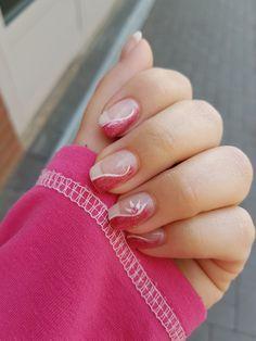 Pink mit Blume... finde das Design ist echt toll geworden