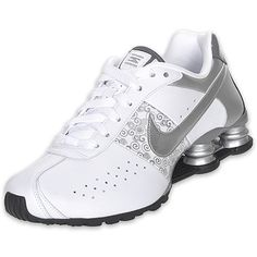silver black and white womens running shoes | NIKE Women's Shox Classic II Running Shoe, Black/White/Anthracite ...