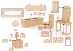 Resultado de imagen para como terminar casa de muñecas en mdf