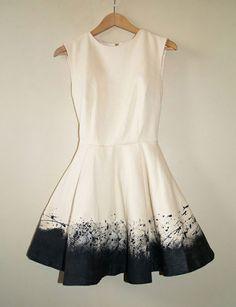 cute dress! Love the ombre effect it has