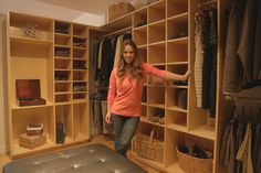 DIY: How To Build a Master Closet System - via Ana White - from HGTV Saving Alaska | Free and Easy DIY Project and Furniture Plans