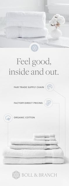 Luxury linens made from the purest organic cotton, without the markups.