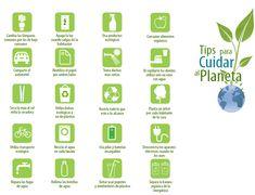 Tips para cuidar el planeta. ¡Inténtalo! #accionesverdes #ecoretos #umayor